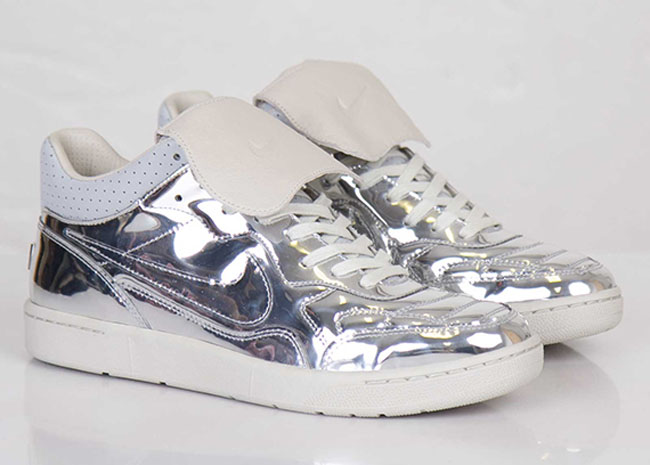 on sale c9b0f 8d9a9  Liquid Metal  comes to the Nike Tiempo 94 Mid.