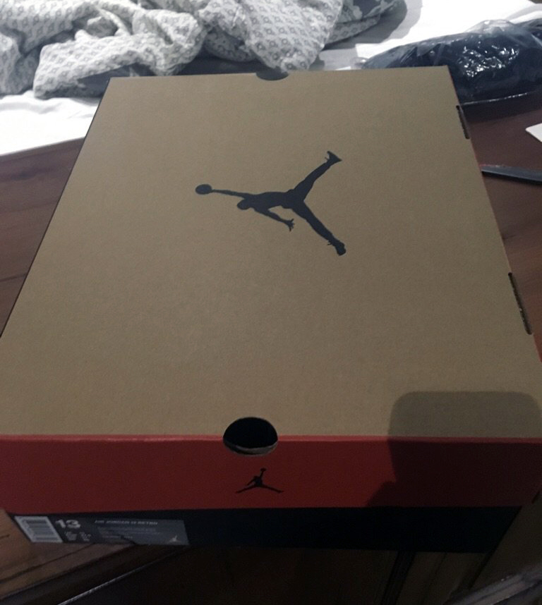 nike even remastered the box for these air jordans sole