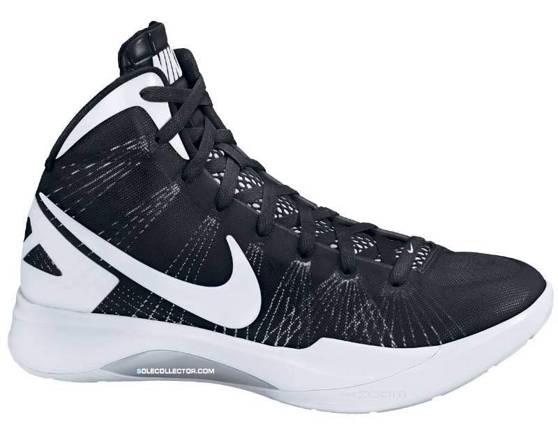Nike WMNS Zoom Hyperdunk 2011 TB Black White Metallic Silver 454150-011 816ff4d9e