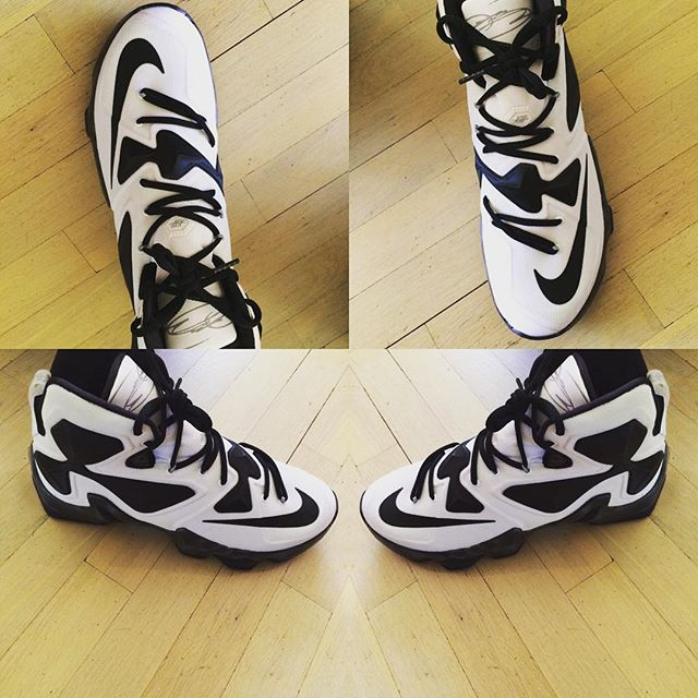 Nike Lebron 13 Black And White