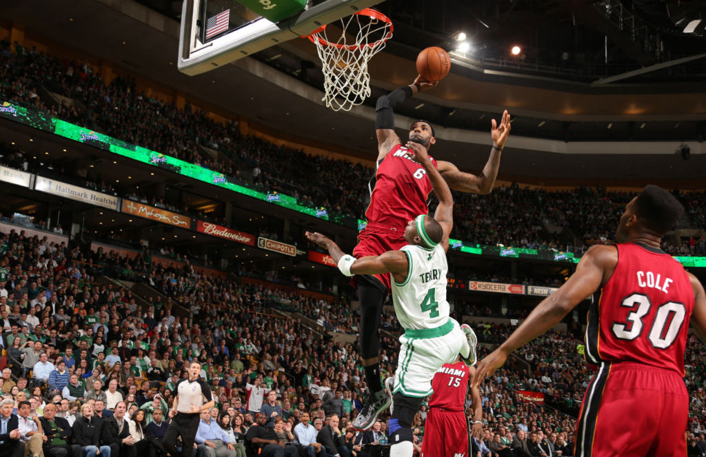 The Season // Top 10 Dunks - LeBron James Posterizes Jason Terry