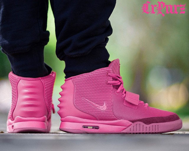 403c41b2f5bf5 Nike Air Yeezy 2  Pink  by Mache Customs for CRPURZ