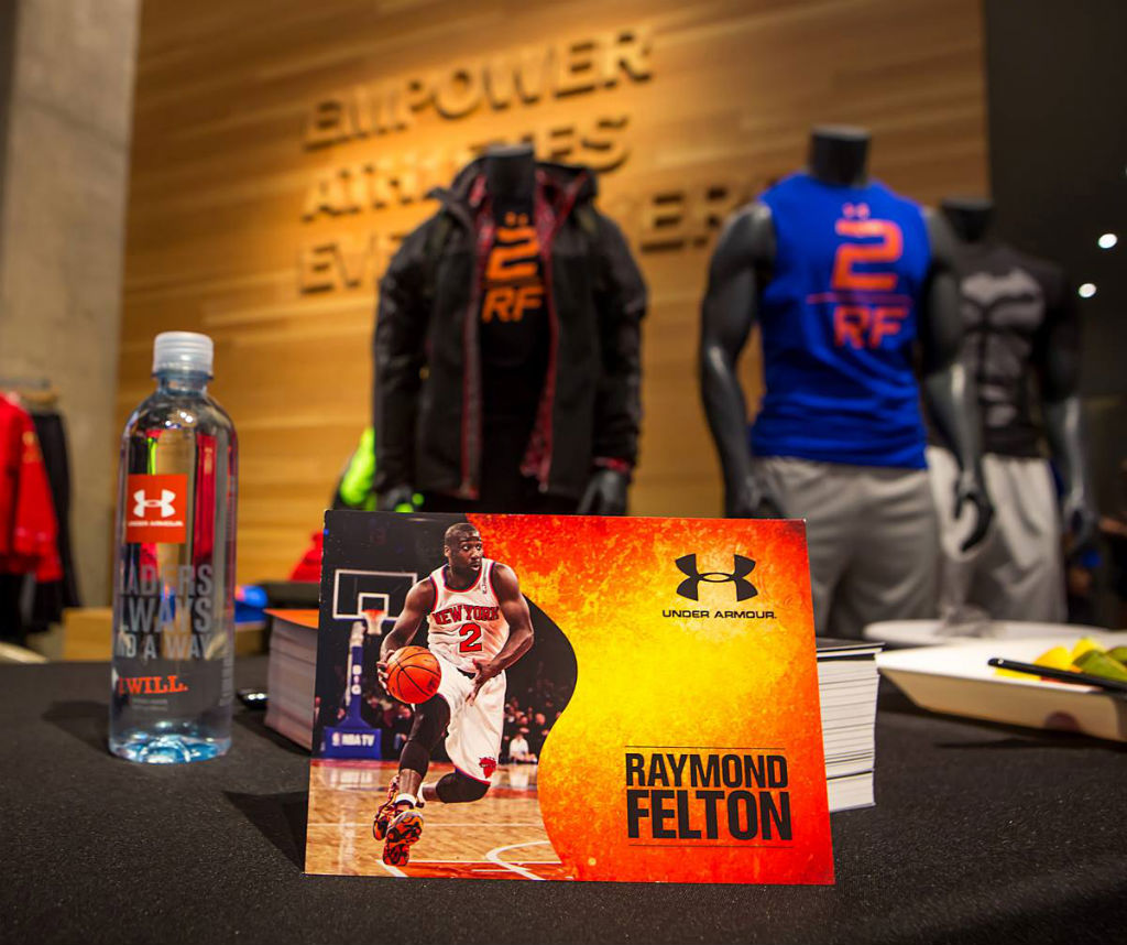 Raymond Felton Visits Under Armour Campus & Brandhouse (10)