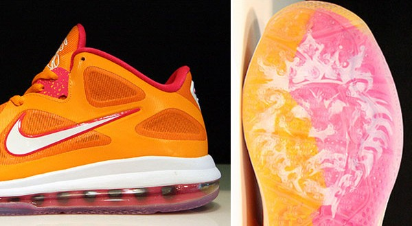 promo code acd8f 143ec After some confusion late last week, we can now confirm this all new  colorway of the Nike LeBron 9 Low is indeed inspired by the Miami Heat s  Floridians ...