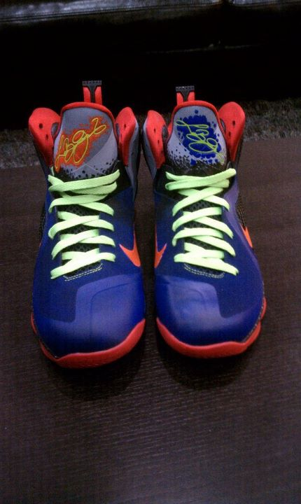 premium selection 7f513 8fddf Nike LeBron 9 NERF by Mache Custom Kicks 3