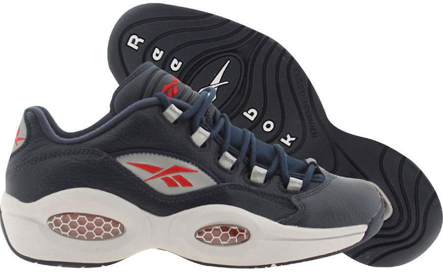 Reebok Classics Question Low Navy Steel Red Silver Release Date V53802 (1)