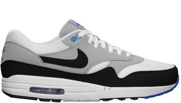 Nike Air Max 1 Essential White/Black-Wolf Grey-Photo Blue