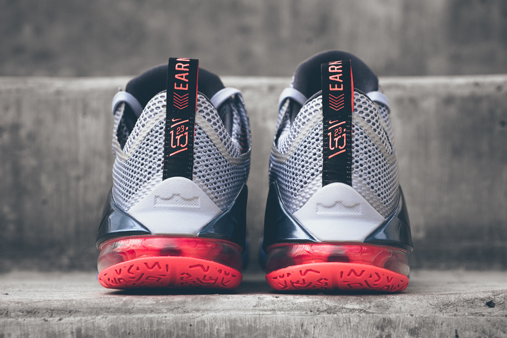 free shipping 63557 4d2ac Lava Flows for Nike LeBron 12 Lows