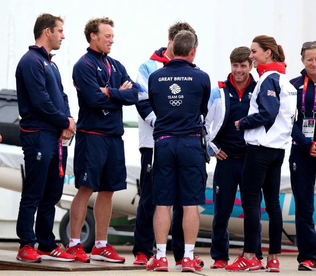 adidas team gb trainers red