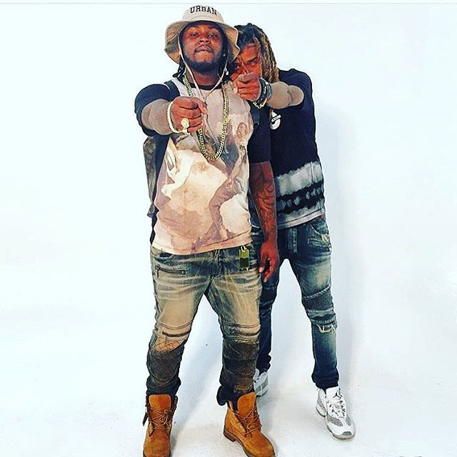 Fetty Wap wearing the 'Cobalt' Air Jordan 11 Low IE