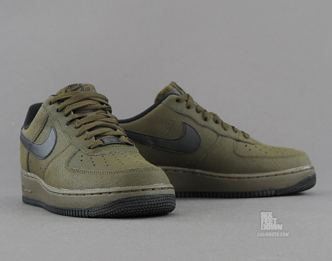 Nike Air Force 1 Dark Loden Black   Sole Collector
