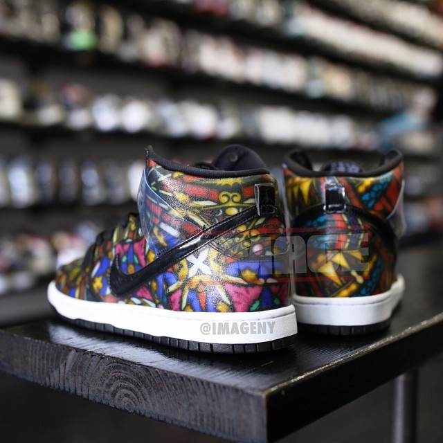 competitive price af5a9 f33aa Concepts x Nike Dunk High SB Stained Glass (2)