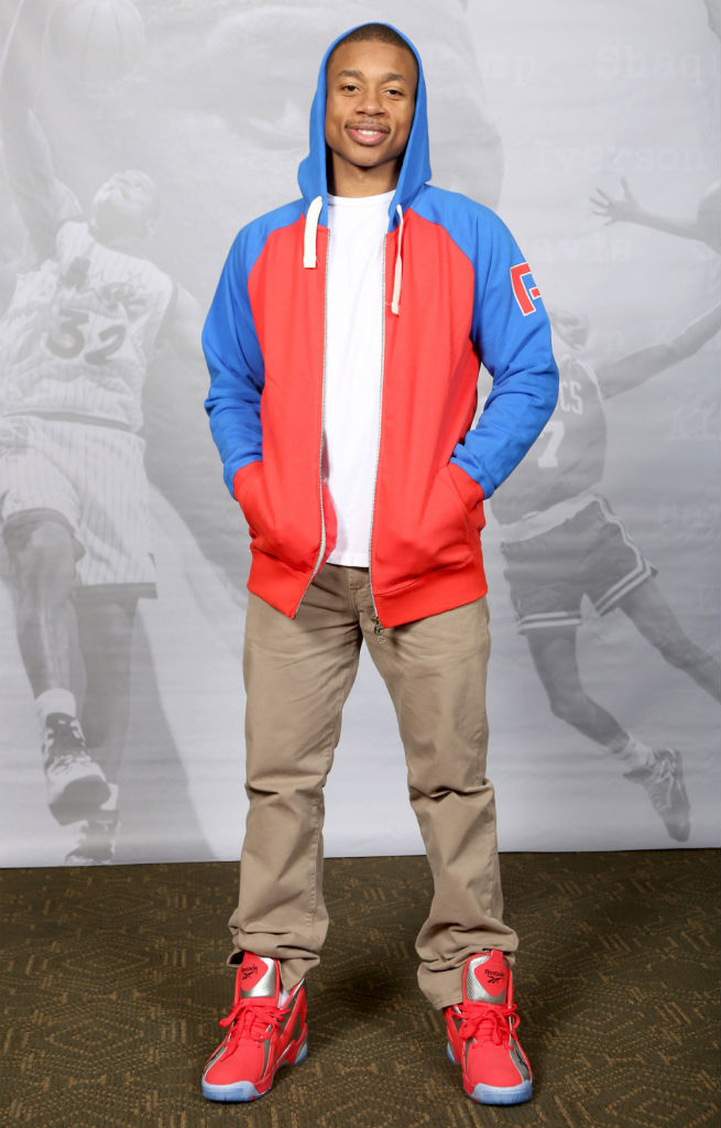 Isaiah Thomas Attends Reebok Kamikaze II Houston Re-Launch (1)