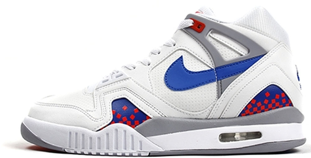 Nike Air Tech Challenge II White/Royal Blue-Infrared-Flat Silver