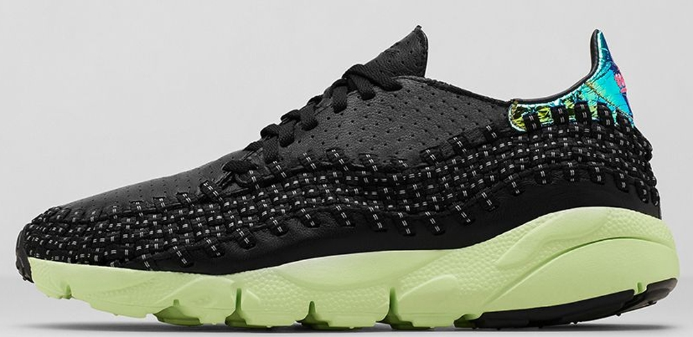 Nike Air Footscape Woven Motion City Black/Pink Pow