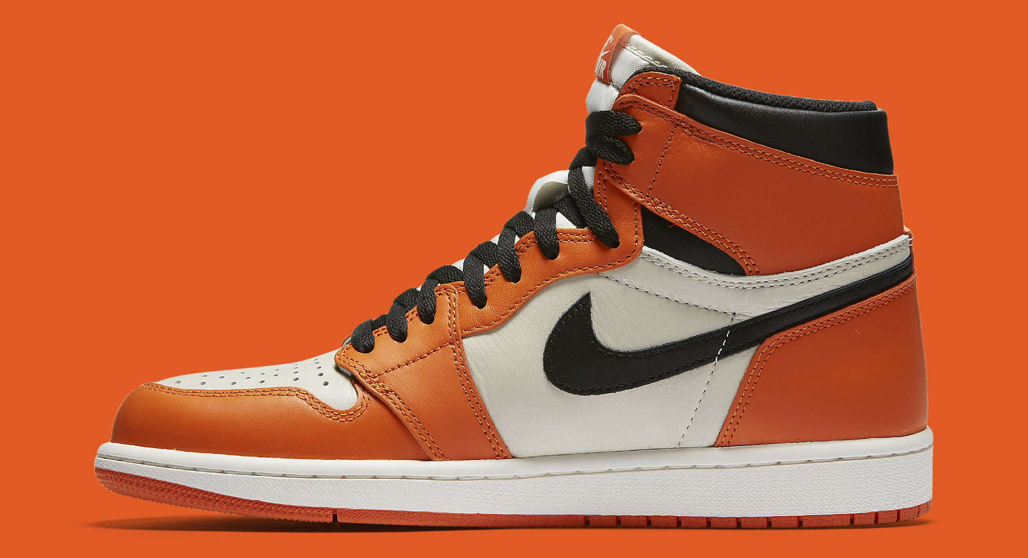 best loved 8084d 906be Image via Nike Air Jordan 1 Shattered Backboard Away 555088-113 Medial