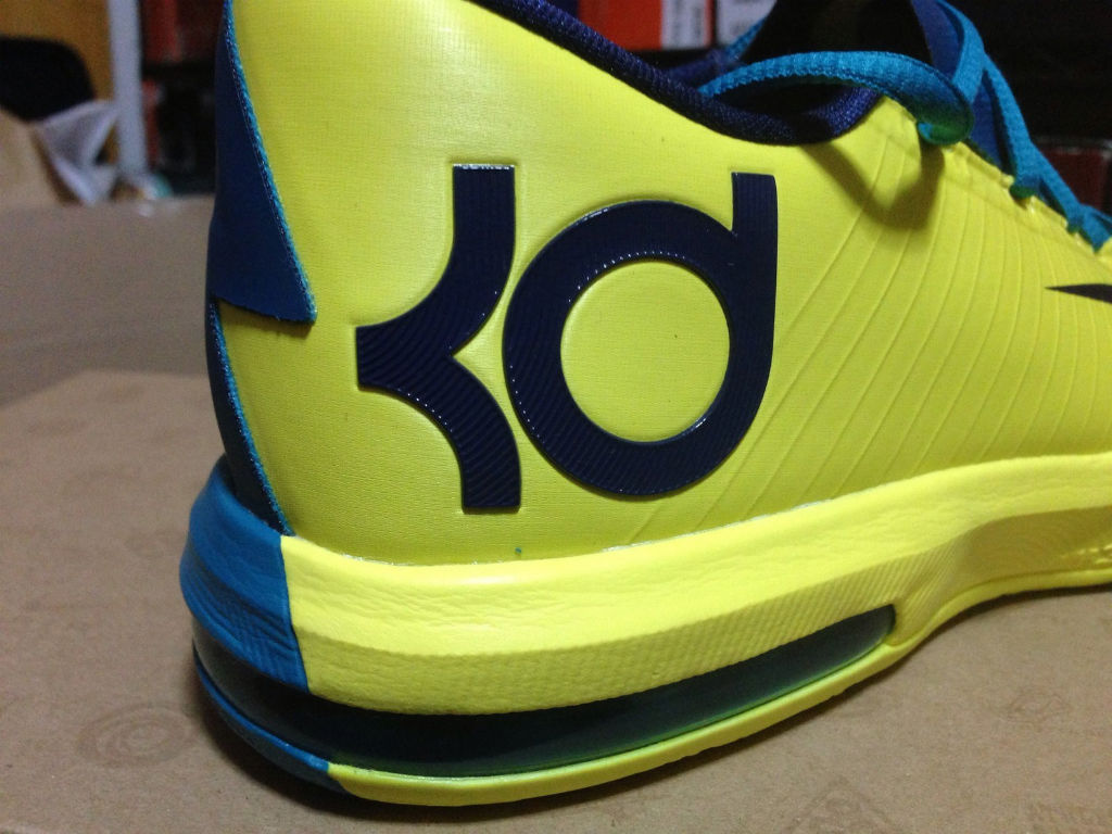 Nike KD VI Yellow Teal Navy 599424-700 (7)