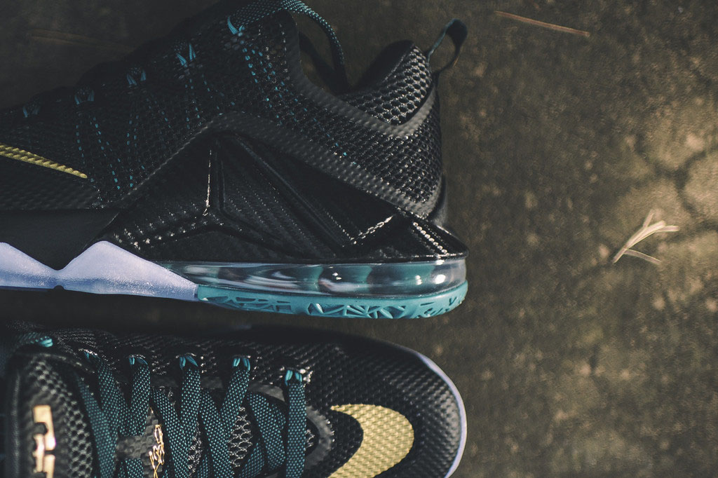 e86828a9335 A Hint of School Spirit On This Nike LeBron 12 Low