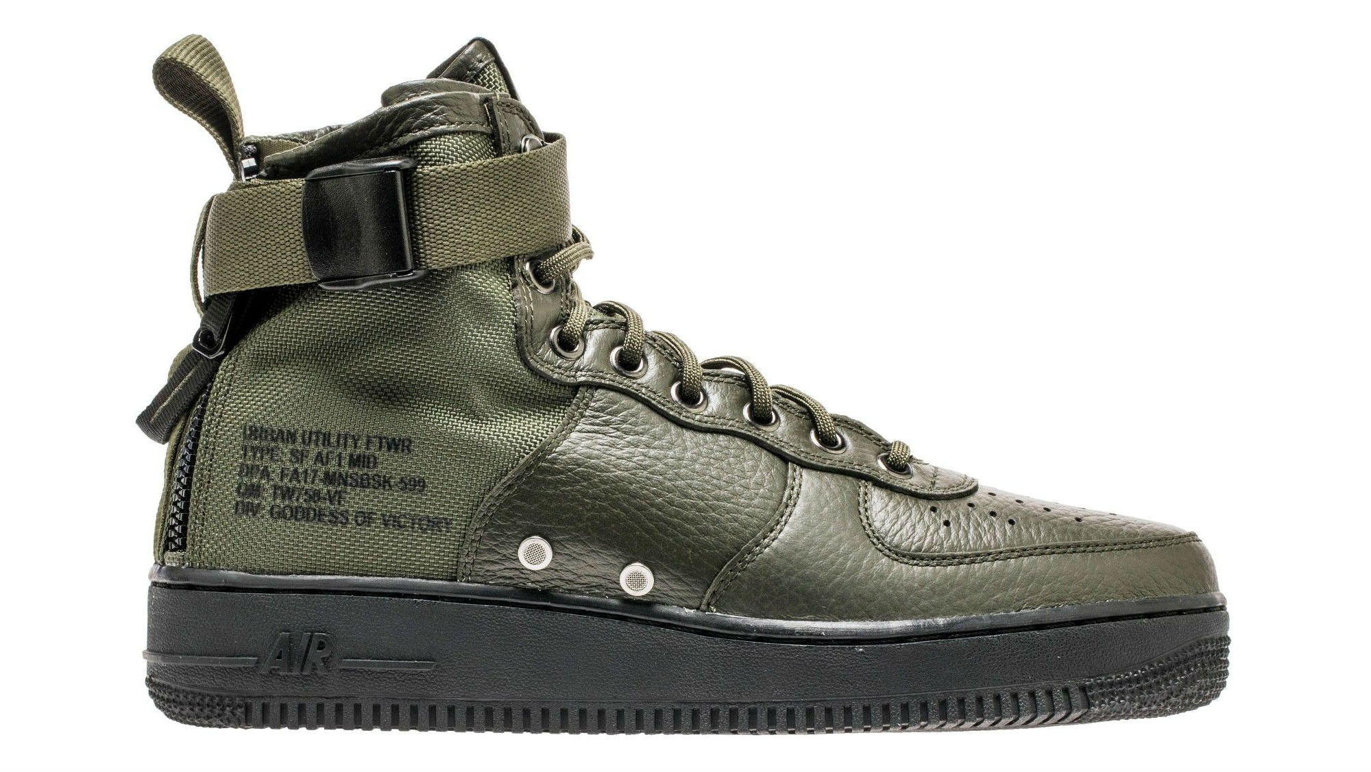 Nike Special Field Air Force 1 Mid Sequoia/Sequoia-Black