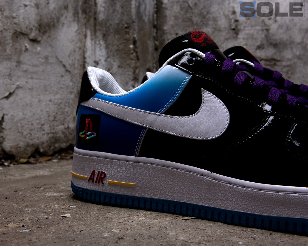 pretty nice 2ce3d cc13a A Look Back: Nike Air Force 1 x Sony PlayStation | Sole ...