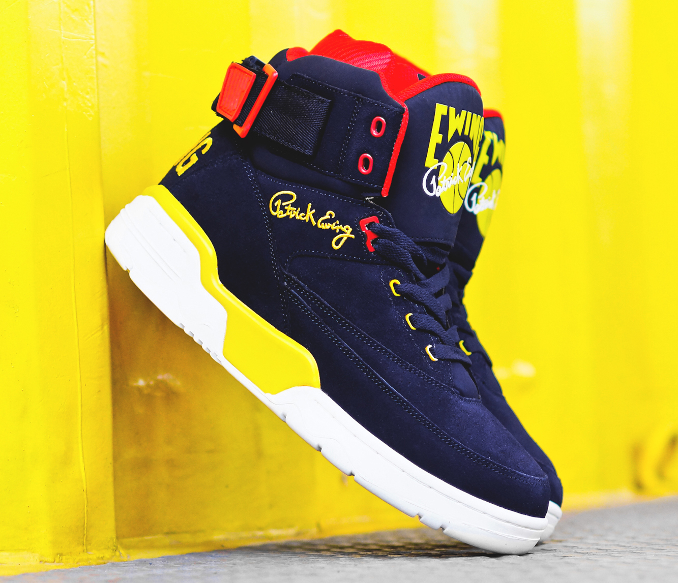 Patrick Ewing Shoes Black And Yellow