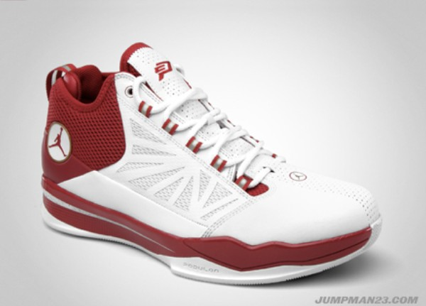 Jordan Brand All-Star Shoes: Jordan CP3.IV White Varsity Red