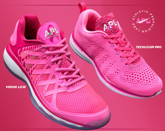 Pink Running Shoes Breast Cancer