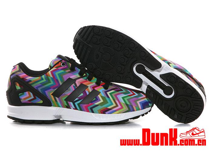 adidas multicolor zx flux
