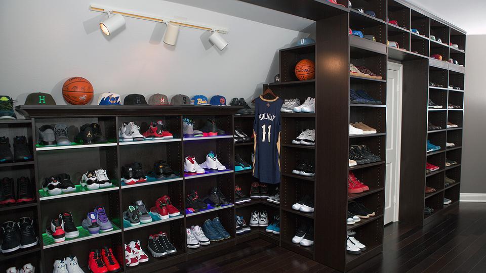 fc024ce330b3 The 15 Best Celebrity Sneaker Closets