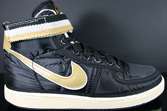 outlet store 76209 0e3b6 Nike Vandal High Supreme - Black/Metallic Gold | Sole Collector