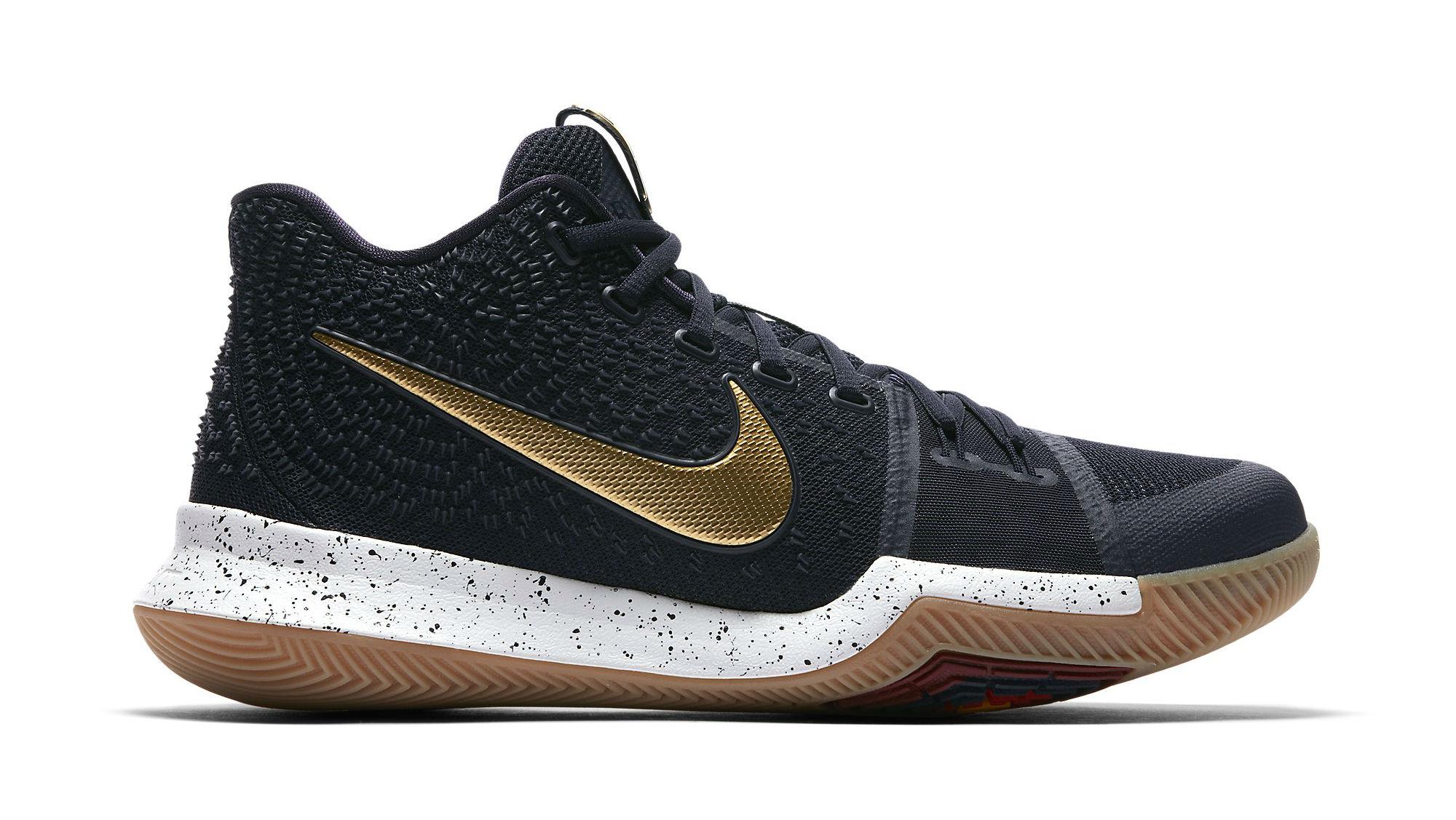 Nike Kyrie 3 Black/Sail-Metallic Gold-Cool Grey