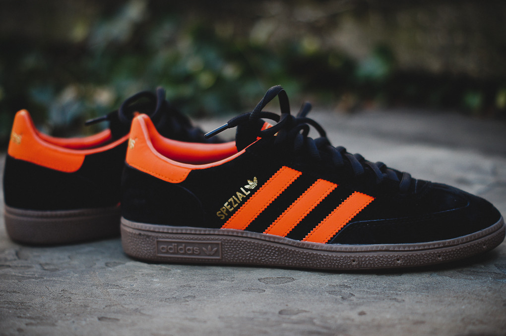Adidas Spezial Black Orange Sole Collector