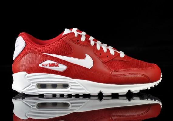 Nike Air Max 90 Si Varsity Red White Sole Collector