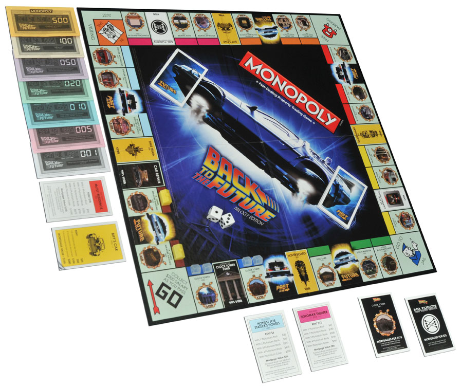 Back to the Future Monopoly Set (2)
