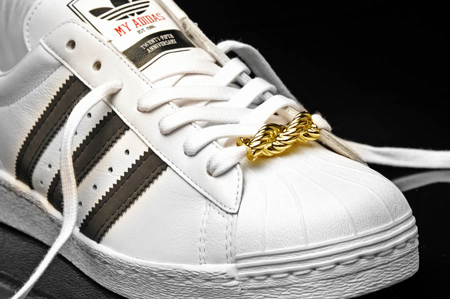 "adidas Originals Superstar 80s - Run DMC ""My adidas"" 25th Anniversary 8"
