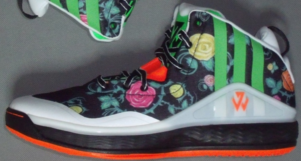 adidas J Wall 1 Core Black/Flash Green-Solar Orange