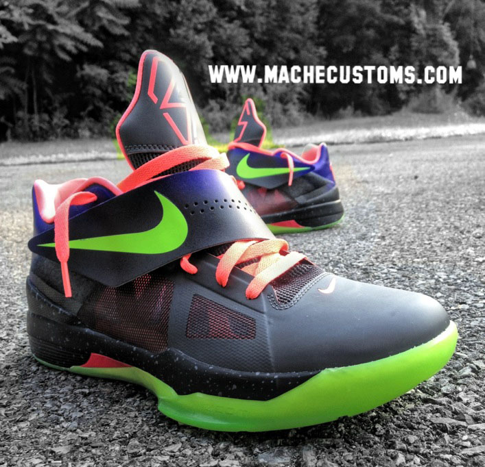 "Nike Zoom KD IV ""Un-NERF"" by Mache Custom Kicks (5)"