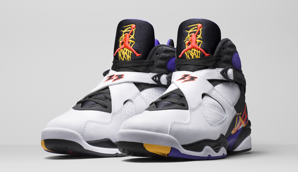 timeless design 6d168 8e51c Air Jordan 8 Three-Peat Release Date 305381-142 (2)