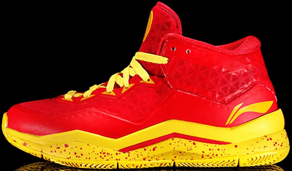 Li-Ning Way Of Wade 3 Lite Red/Yellow