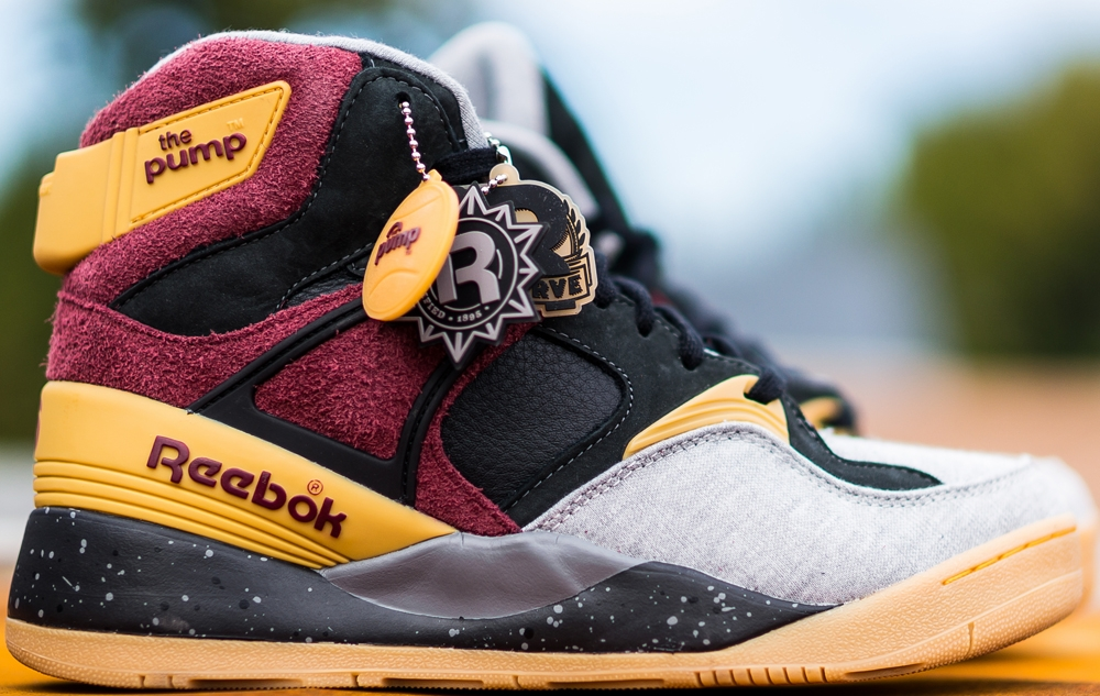 Reebok The Pump Certified Light Grey/Burgundy-Gravel