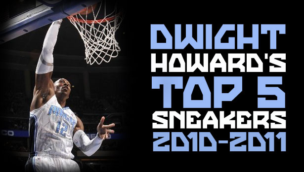 Top 5 Sneakers Worn By Dwight Howard This Season