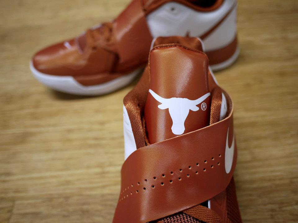 Nike Zoom KD IV 4 Texas Longhorns (3)