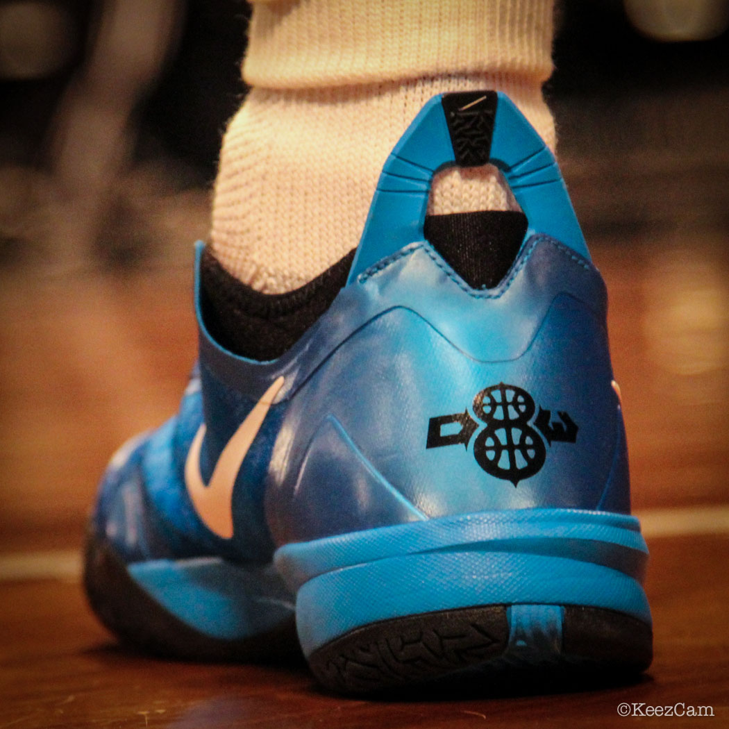Deron Williams wearing Nike Zoom Crusader Blue (2)