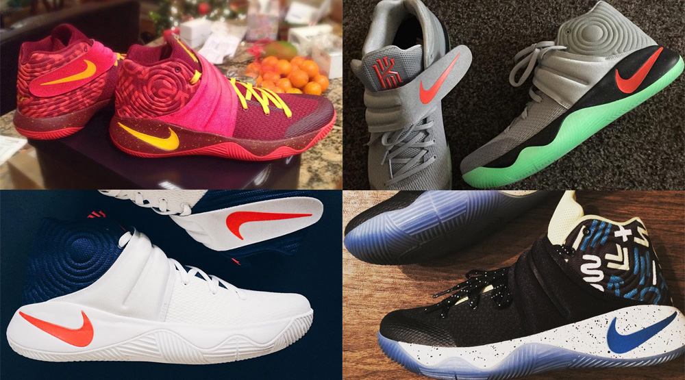 detailed look 2c02d 7fdf0 NIKEiD Kyrie 2 Designs