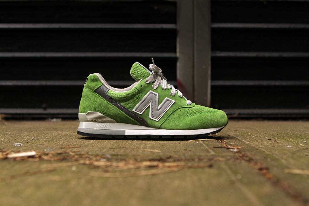newest 918a6 02bae The New Balance 996 in a bright Lime Green colorway is now available.