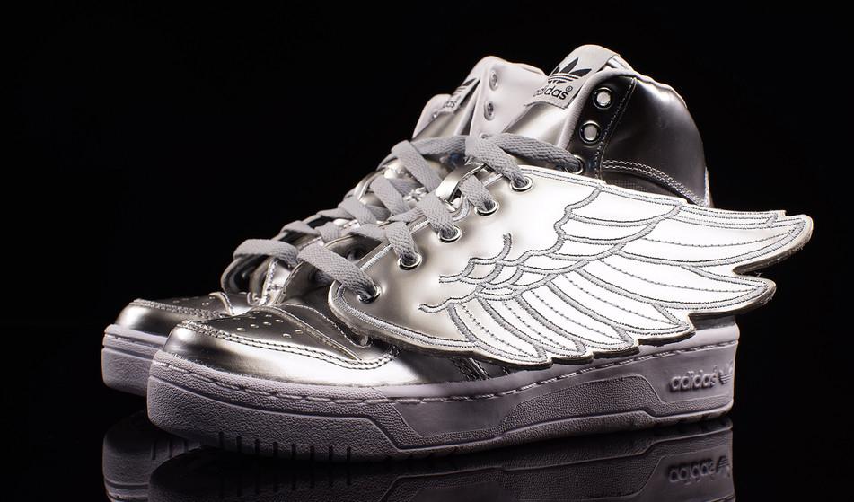 Adidas Originals Jeremy Scott Wings 2,0 Schoenen Geel Zwart