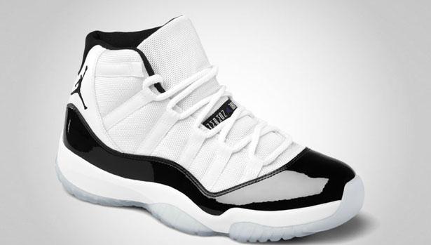 air jordan retro 11 black and white