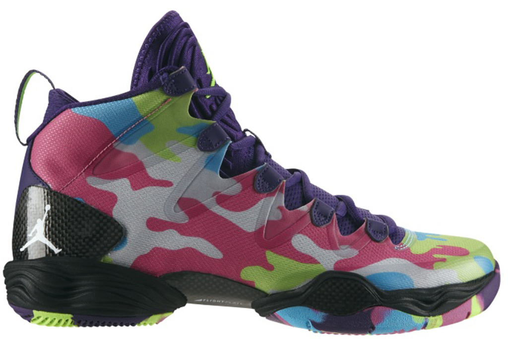 f379bd11647 Air Jordan XX8 SE 'Bel-Air' 616345-580 Court Purple/White-Flash Lime-Gamma  Blue