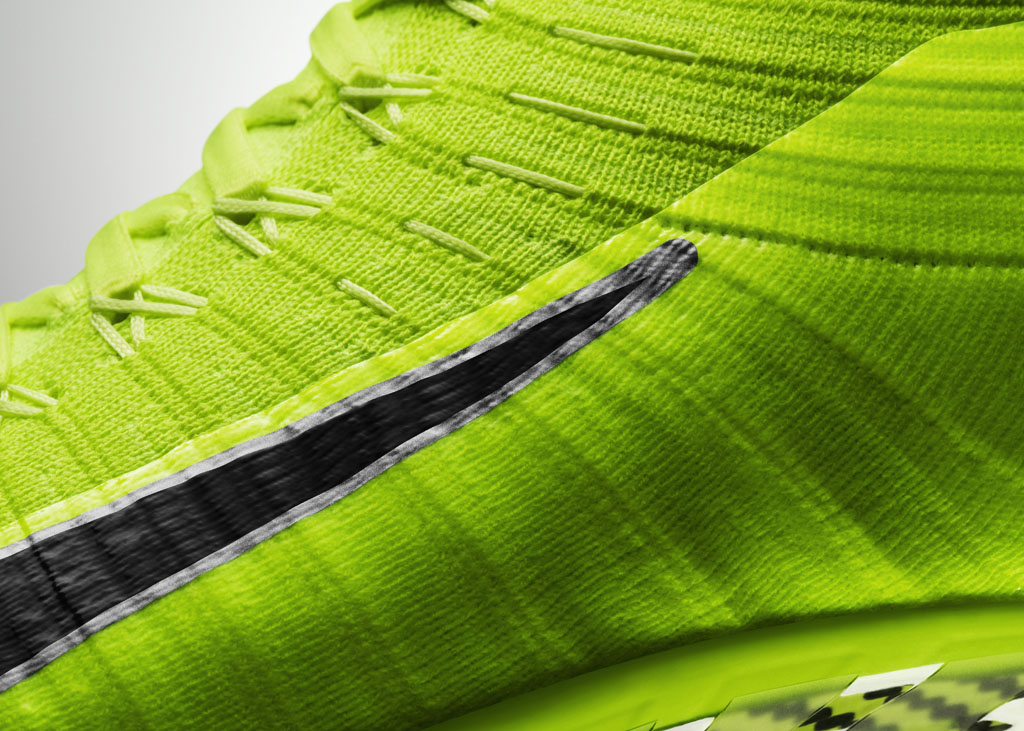 Nike Vapor Ultimate Flyknit Cleat Volt (2)