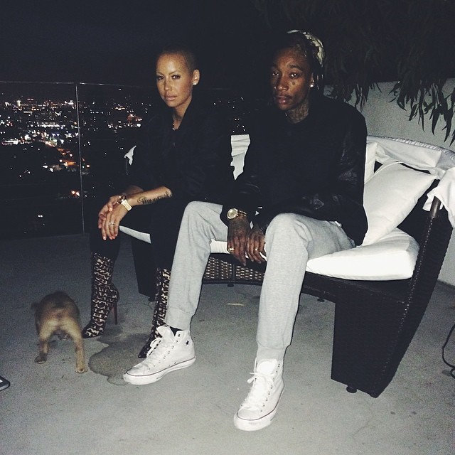 Wiz Khalifa wearing Converse Chuck Taylor All Star